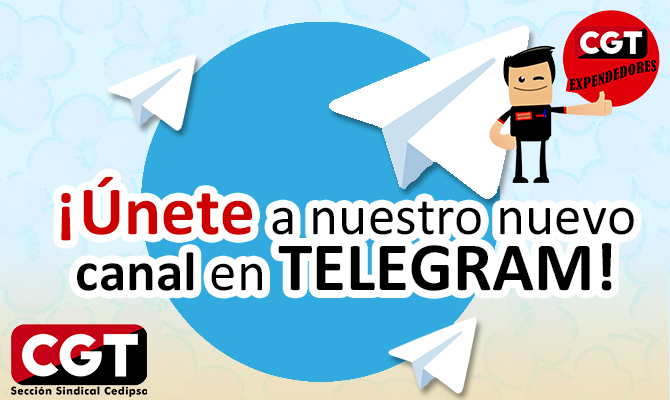 Canal Telegram CEDIPSA-CGT