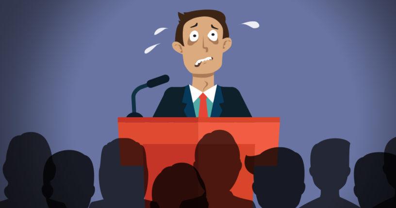 Como combatir el nerviosismo al hablar en publico