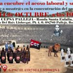 Concentración III – STOP ACOSO – CEDIPSA (Grupo CEPSA)