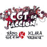 Entrevista a CEDIPSA-CGT en CGT EN ACCIÓN de RADIO KLARA